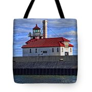 Superior And Duluth Harbor Lighthouse Tote Bag