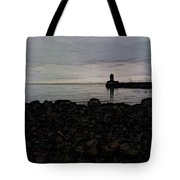 Superior Lighthouse Tote Bag
