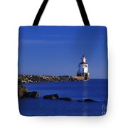 Superior South Lighthouse - Fm000036 Tote Bag