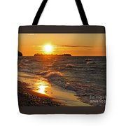 Superior Sunset Tote Bag