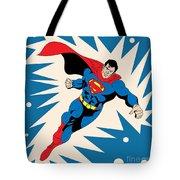 Superman 8 Tote Bag