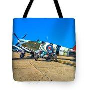 Supermarine Mk959 Spitfire Tote Bag
