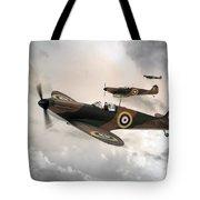 Supermarine Spitfire Mk I Tote Bag