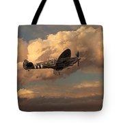 Supermarine Spitfire Mk Lfix  Tote Bag