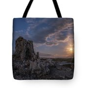 Supermoon At Mono Lake Tote Bag