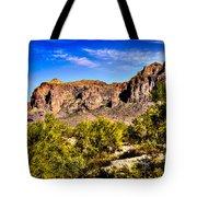 Superstition Mountain Arizona Tote Bag