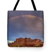 Superstition Rainbow  Tote Bag