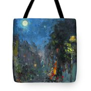 Supermoon 2014 Tote Bag