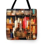 Supplies In Tailor Shop Tote Bag