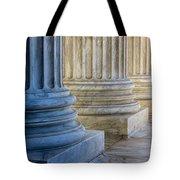 Supreme Court Colunms Tote Bag