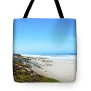 Surf Beach Lompoc California Tote Bag