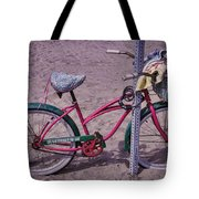 Surf Bike Tote Bag