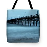 Surf City Pier Soft 2 Tote Bag