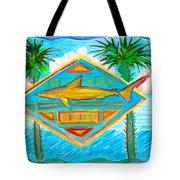Surf Crest Tote Bag