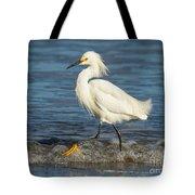 Surf Egret Tote Bag