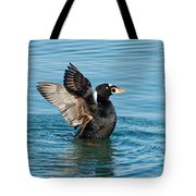 Surf Scotter Male Wings Tote Bag