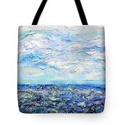 Surf Study Tote Bag by Regina Valluzzi