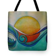 Surf Sun Spirit Tote Bag