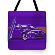 Surf Ute Purple Haze Tote Bag