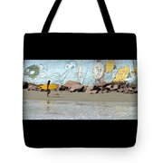 Surfer Beach 1034b Tote Bag