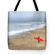 Surfer Boy Tote Bag