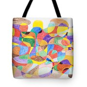 Abstract Dance Party  Tote Bag