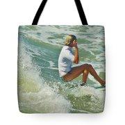 Surfer Hatteras Island 3 7/16 Tote Bag