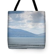 Surfer On The Beach, Inch Strand Tote Bag