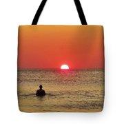 Surfer Sunrise 3 10/2 Tote Bag