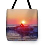Surfer Sunrise 6 10/2 Tote Bag