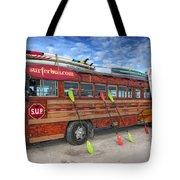 Surferbus Tote Bag
