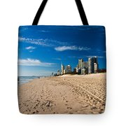 Surfers Paradise Beach By Day Tote Bag