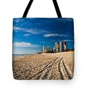 Surfers Paradise Beach South Tote Bag