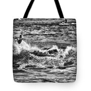 Surfin In The Usa V8 Tote Bag