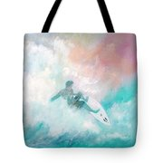 Surfin' Tote Bag