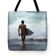 Surfing Brazil 3 Tote Bag
