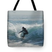 Surfing In The Sun Tote Bag