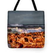 Surfing In The Usa V12 Tote Bag