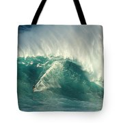 Surfing Jaws 2 Tote Bag