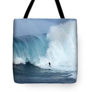 Surfing Jaws 4 Tote Bag