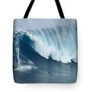 Surfing Jaws 5 Tote Bag