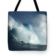 Surfing Jaws Surfing Giants Tote Bag