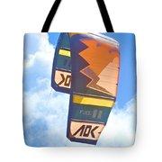 Surfing Kite Tote Bag