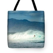 Surfing Light Tote Bag