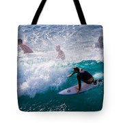 Surfing Maui Tote Bag