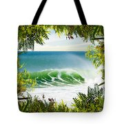 Surfing Paradise Tote Bag