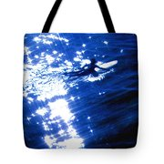 Surfing The Stars Tote Bag