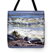 Surfside Jetty Tote Bag