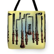 Surgical Instruments 16th Century Tote Bag