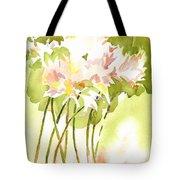 Surprise Lilies IIi A Portrait Tote Bag